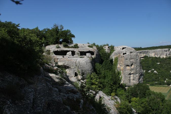 экскурсия в пещерный город Эски-Кермен