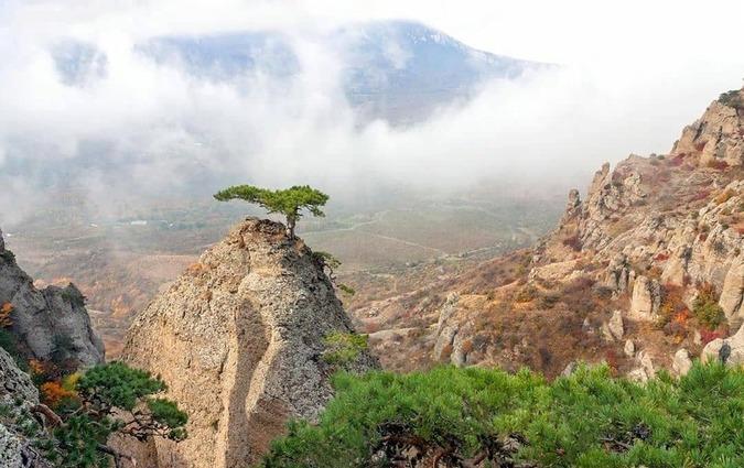 экскурсия Демерджи, долина приведений