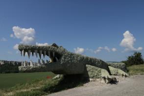 """alt=""""Гора Крокодил-прекрасное украшение Бахчисарайского района"""""""